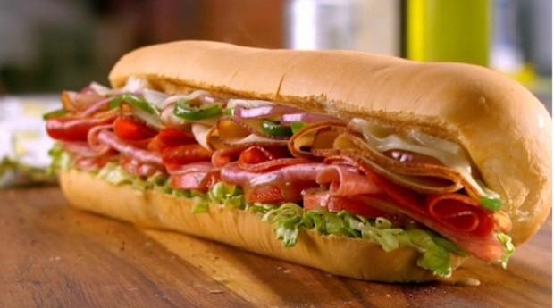 Subway sandwich